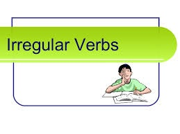 Pre-Int 6 - Irregular verb list - Click to make an enquiry